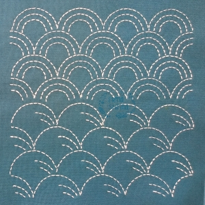 Набор 2х шаблонов 21х21 см для японской вышивки №5